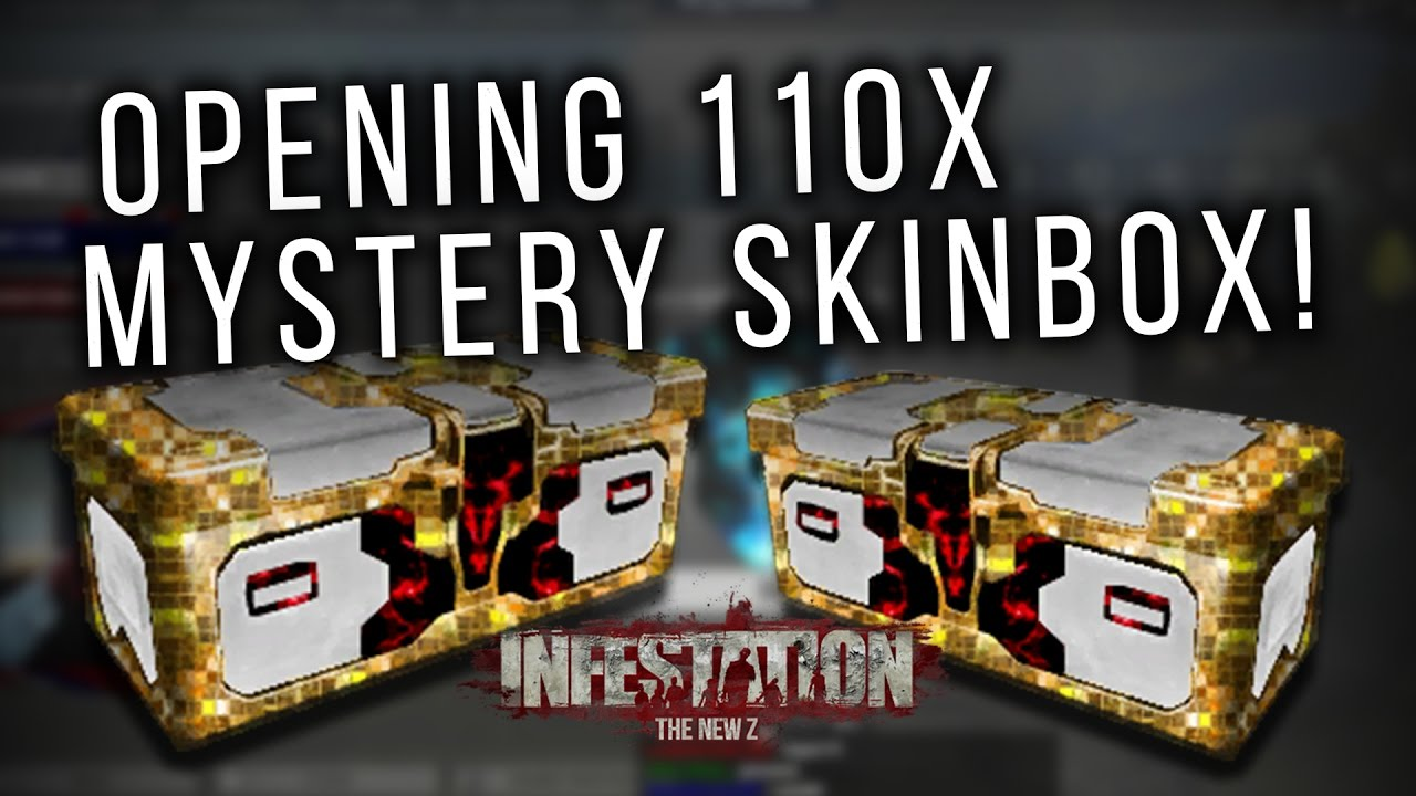 Infestation: The New Z - Opening 110 Mystery Skinboxes