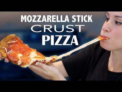 DIY MOZZ STICKS INSIDE A PIZZA - VERSUS - HAPPY NEW YEAR