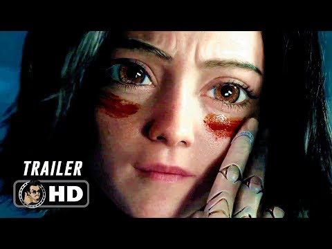 ALITA BATTLE ANGEL International Trailer (2018) Sci-Fi Action Movie HD