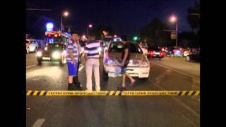 В Алматы пара пешеходов сбита двумя автомобилями, женщина погибла на месте