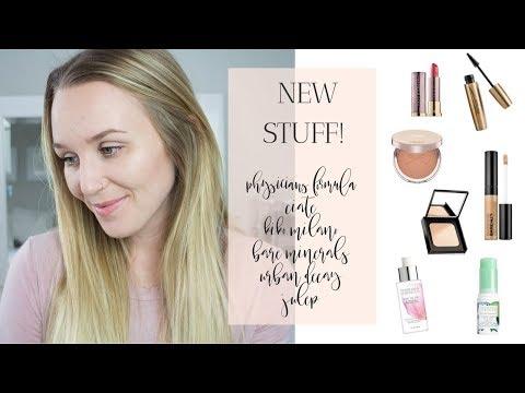 NEW STUFF! PF Skincare, Kiko Mascara, Bare Minerals Concealer +More