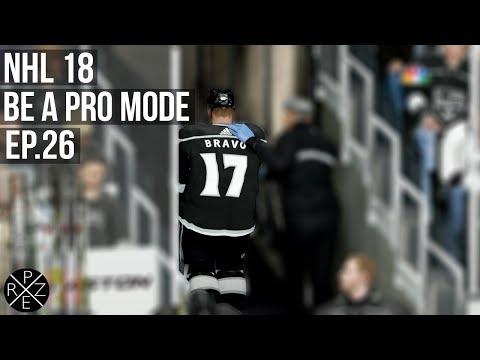 NHL 18 Be A Pro - Los Angeles Kings vs Toronto Maple Leafs Ep.26 (Xbox One X)