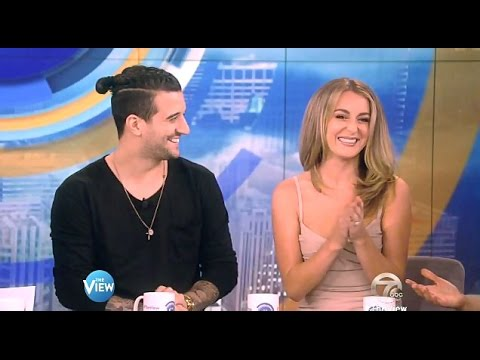 Alexa PenaVega & Mark Ballas - DWTS21 Exit Interview - The View ...