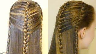 Easy Faux Mermaid Braid Hair Tutorial, Hairstyle Hacks
