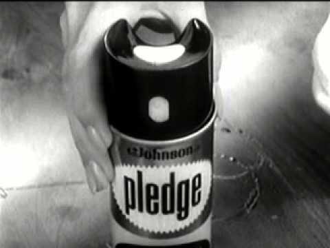 1960 S Pledge Furniture Polish Commercial Youtube