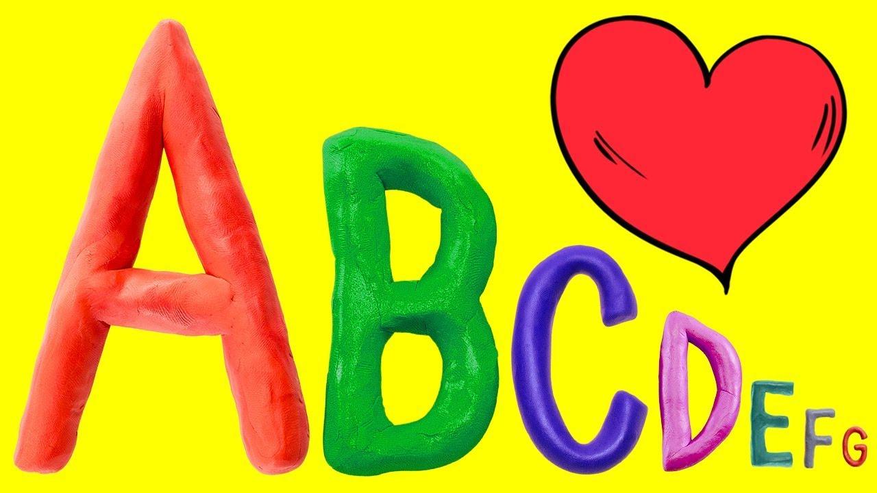 Oyun Hamuru Harfler ile ABC Alfabeyi Öğreniyorum