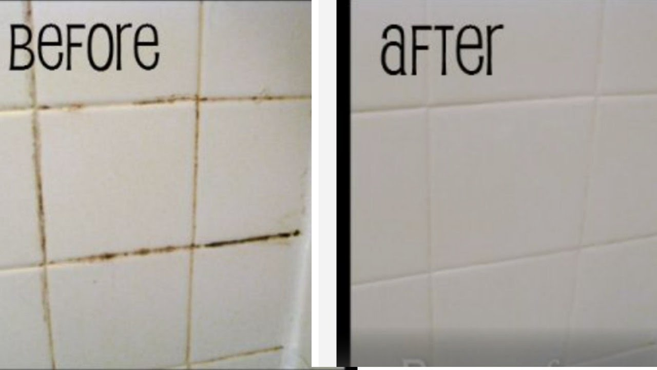 Easy Grout Bathtub Cleaning Tip