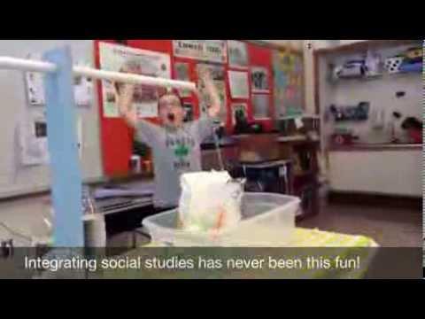 Engineering Water Wheels in Mrs. Lynch's Class