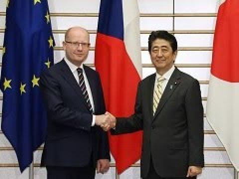 日・チェコ首脳会談等-平成29年6...
