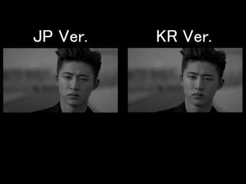 iKON - 지못미(APOLOGY) JPver. KRver. comparison