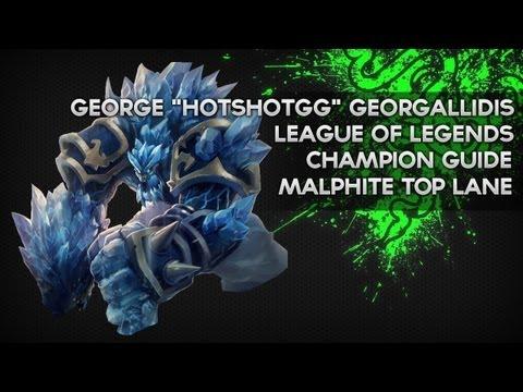 Malphite Guide - HotshotGG - CLG LoL Champion Guide 8 - Season 3 - Razer Academy