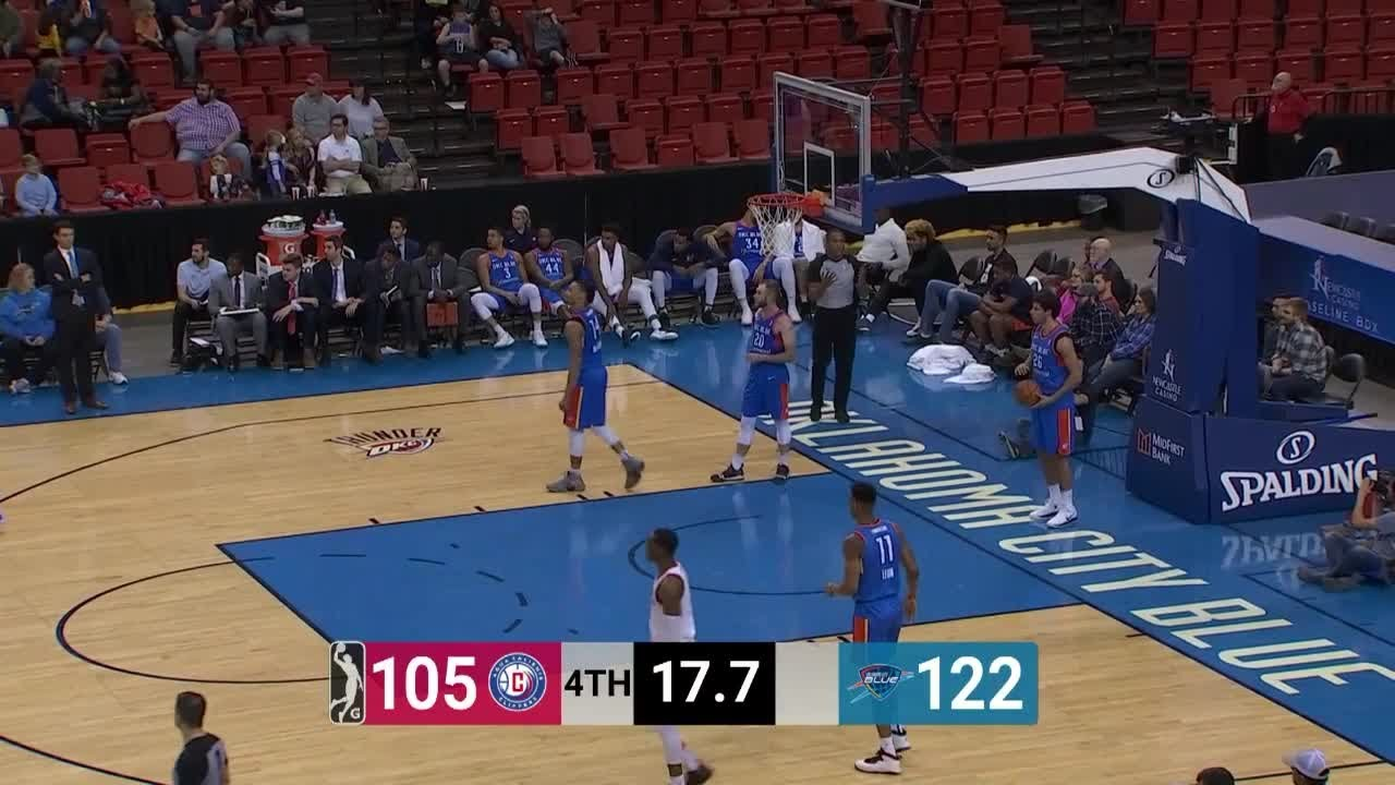 Desi Rodriguez (15 points) Highlights vs. Oklahoma City Blue