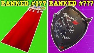 RANKING EVERY BACKBLING FROM WORST TO BEST! (186 Backblings!) | Fortnite Battle Royale!)