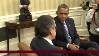 Greece PM Samaras Meets President Obama to Discuss Economy
