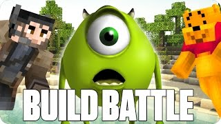 ¡UN MONSTRUO DE VERDAD! BUILD BATTLE | Minecraft con Luh