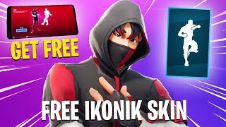 "* NEW * How to Get ""ICONIC SKIN FREE"" in Fortnite * WORKING METHOD * (FREE ICONIC SKIN)"
