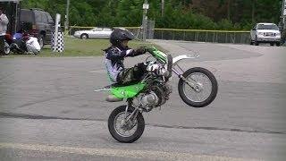 Mini Dirt Bike Wheelie, Start'Em Young,  Начинать надо с детства