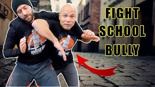 How do you Fight a school Bully | head lock you
