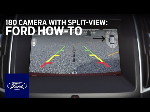 180 Camera with Split-View Display | Ford How-To | Ford