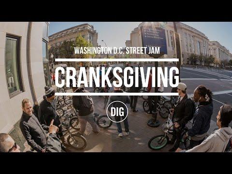 DIG BMX: 2015 Washington, D.C. Cranksgiving Street Jam