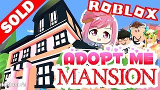 [NEW UPDATE] ADOPT ME! MANSION HOUSE and DECORATE IT! Adopt Me! ROBLOX | Quick Teleport to Family 💕