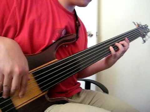GIM Fretless 6 Custom Bass Made In Malaysia