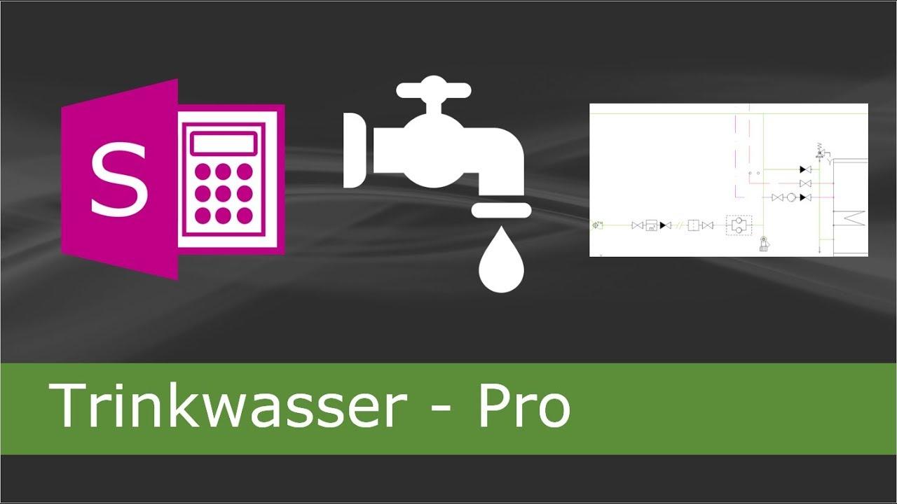 Trinkwasser Pro Regel der Druckerhöhungstechnik - YouTube
