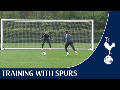 Danny Rose - Perfection from the penalty spot | Training With Spurs