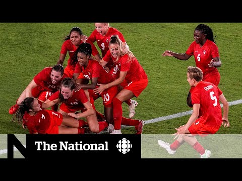 Canada wins Olympic gold in women's soccer