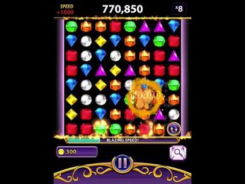 Bejeweled Blitz iPad [No Cheat] 1,541,650 Moonstone (Elite Technique)
