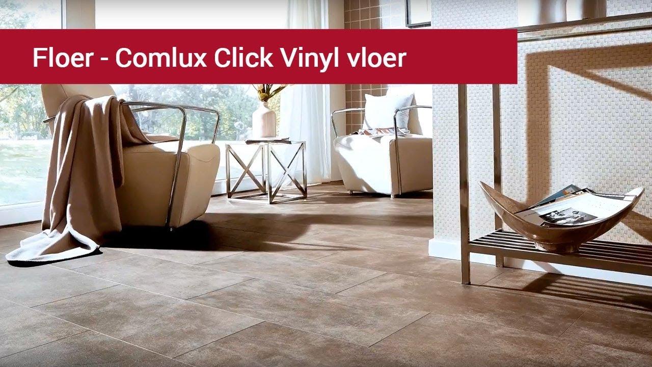 Floer comlux vinyl click vinyl vloer youtube