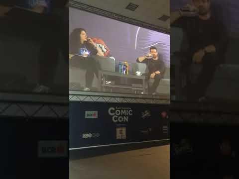 Daniel Gillies at Romania Comic Con panel 2018