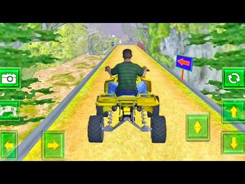 ATV Taxi Bike Offroad Parking Driving Game   ATV Bike Racing Game   Bike Games - ATV Bike Gameplay