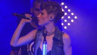 """Kiesza -LIVE- """"Giant in My Heart"""" @Berlin Feb 01, 2015"""