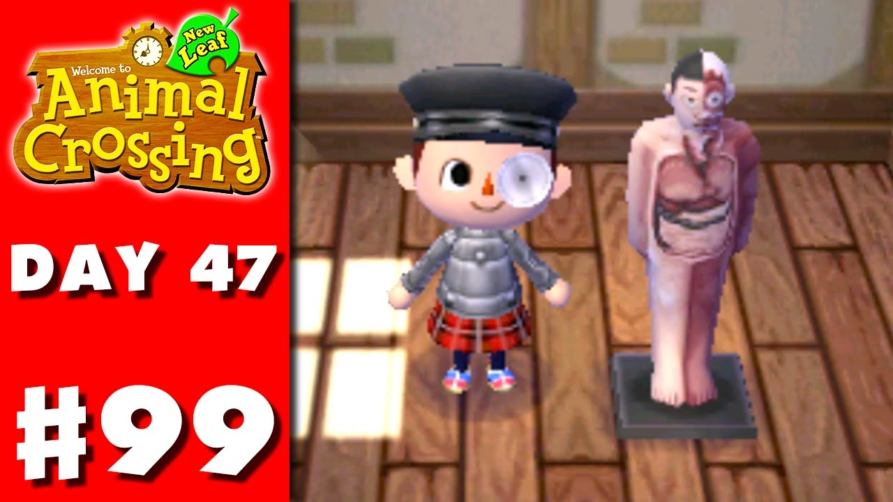 Animal Crossing: New Leaf - Part 99 - Anatomical Model (Nintendo 3DS ...