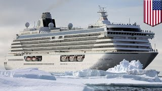 Arctic cruise: cruiseliner Crystal Serenity is the largest ship to sail the Arctic - TomoNews