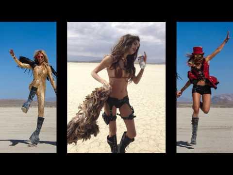 The Burning Man festival.