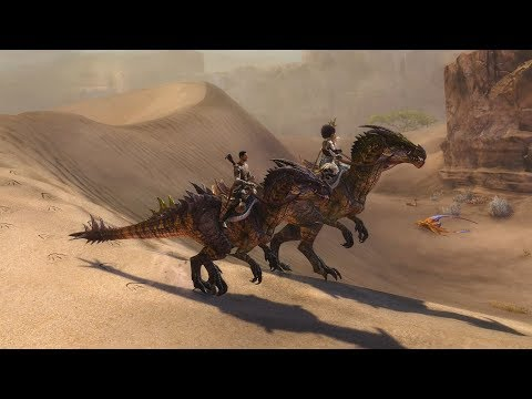 Guild Wars 2: Path of Fire – Expansion Feature – Mounts