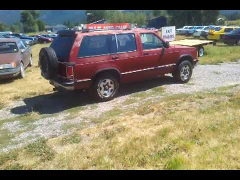 1991 red s10 blazer 4×4 for sale