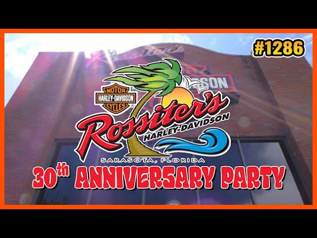 Born To Ride TV - Rossiter's 30th Anniversary Party