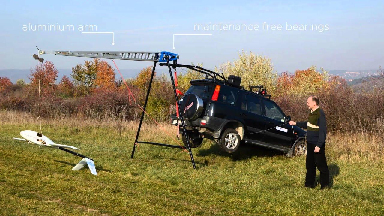 Trebuchet drone launcher - DIY Drones