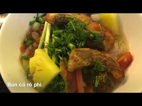 BÚN CÁ RÔ PHI - Món ăn ngon đơn giản- bữa cơm hàng ngày.