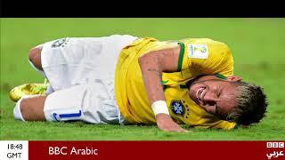 #بروح_رياضية.. إصابة #نيمار التى قتلت كبرياء البرازيل أمام ألمانيا فى #كأس_العالم