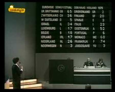 Eurovision 1976 - Voting Part 2/3