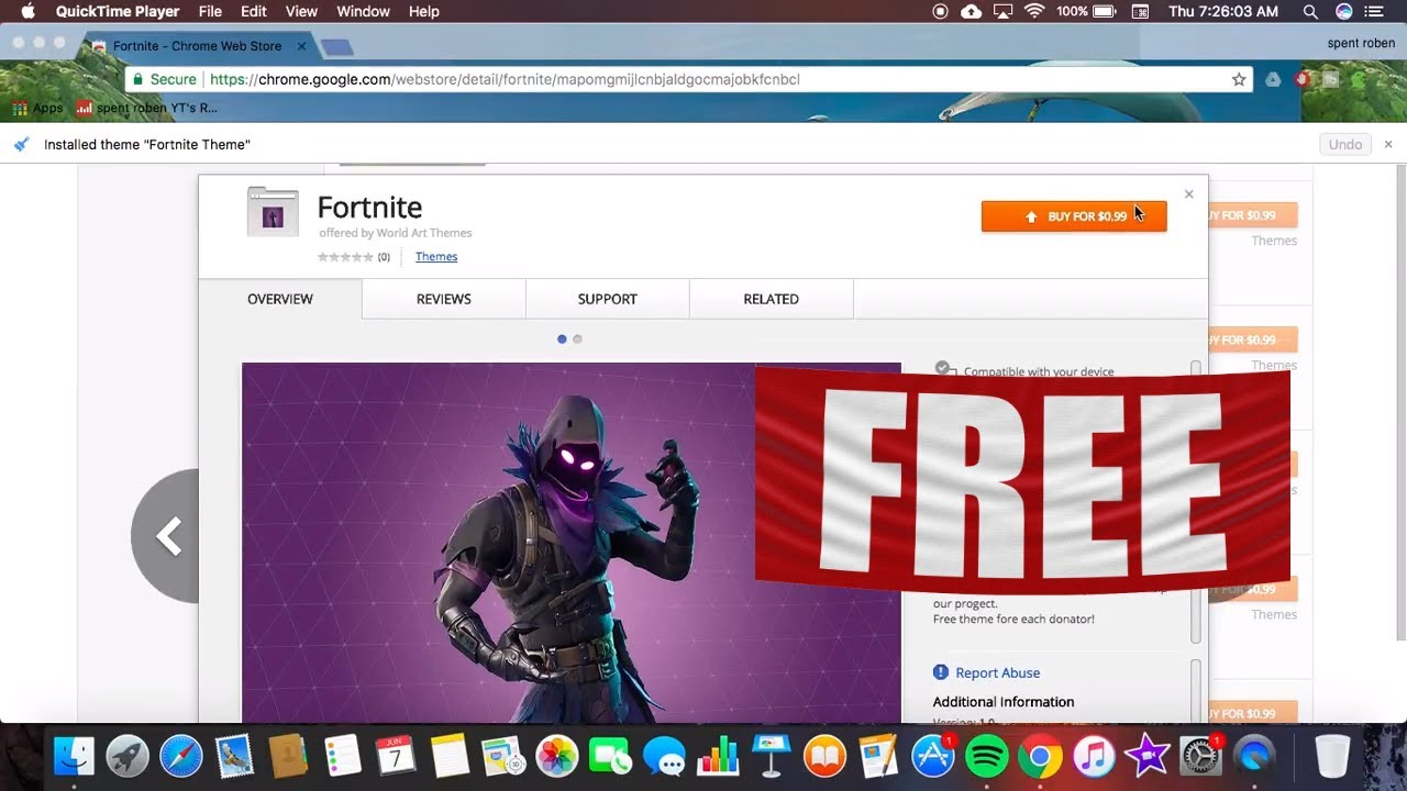 How to get chrome backgrounds for free