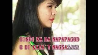 Nakapagtataka - Rachel Alejandro (Karaoke Cover)
