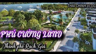 Phu Gia artificial island in Rach Gia, Kien Giang. SPECIALTY    PHU CUONG URBAN AREA