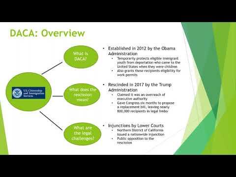 APPAM Webinar: DACA - Policy, Community, and Global Implications