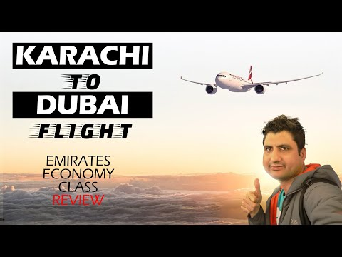 Karachi to Dubai: Emirates 777-300 Economy Class Review