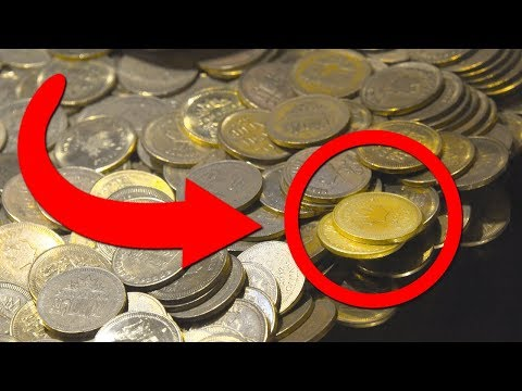 WINNING GOLD FROM THE ARCADE COIN PUSHER!?